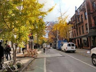 Greenwich Village i New York - Bleecker Street