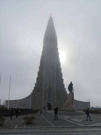 Island stopover på vej til New York - Hallgrimskirkja
