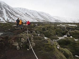 Island stopover på vej til New York - Lava