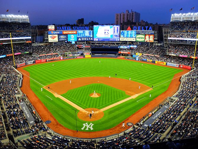 Sportskalender for New York - NY Yankees