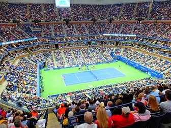 US Open Tennis billetter - Tenniskamp