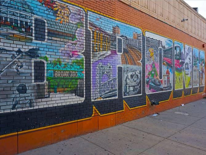 Guidet tur i Brooklyn, Queens og Bronx - Street art i Bronx