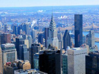 Chrysler Building in New York - View of the Chrysler Building